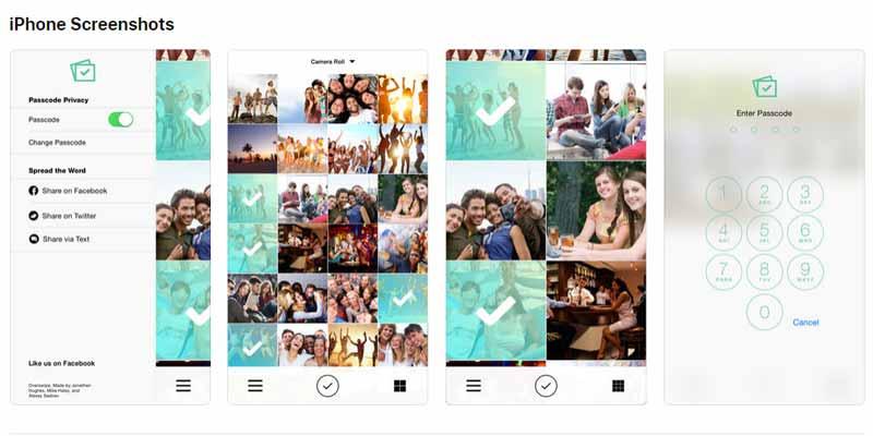 Port Get Over Swipe App